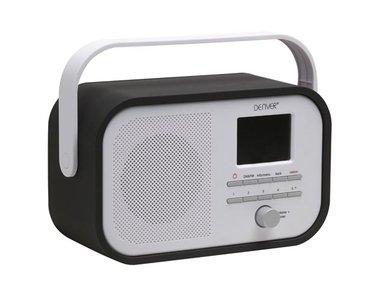 DAB-40BLACK - DAB+/FM-RADIO MET DAB-SLIDESHOW - ZWART (DV-10506)