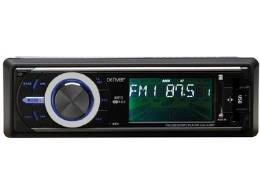 CAU-439BT - FM/AM-AUTORADIO MET BLUETOOTH EN RDS (DV-20103)