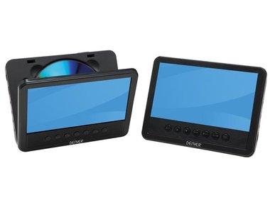 MTW-756TWIN NB - DRAAGBARE DVD-SPELER MET 7 LCD-SCHERM + EXTRA SCHERM (DV-20201)