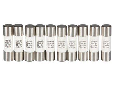 SET MET ZEKERINGEN VOOR DVM4000, DVM4100, DVM4200 (10 st.) (DVM4X00/FUSES)