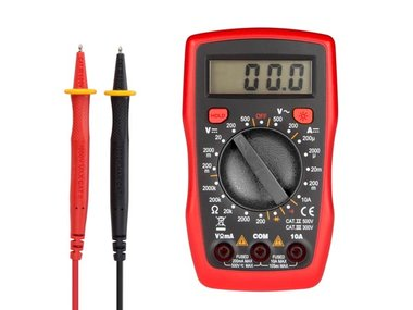 DIGITALE MULTIMETER - CAT. II 500 V / CAT III 300 V -10A (DVM841)