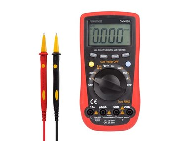 DIGITALE MULTIMETER - CAT III 600V / CAT IV 300V - 15A - 6000 COUNTS - TRUE RMS (DVM898)