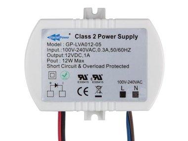 LED-VOEDING - 1 UITGANG - 12 VDC - 12 W (GP-LVA012-05)