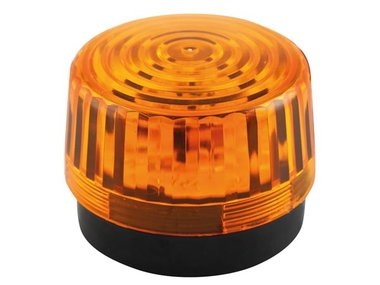 LED-KNIPPERLICHT - AMBER - 12 VDC -  ø 100 mm (HAA100AN)