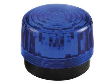 LED-KNIPPERLICHT - BLAUW - 12 VDC -  ø 100 mm (HAA100BN)
