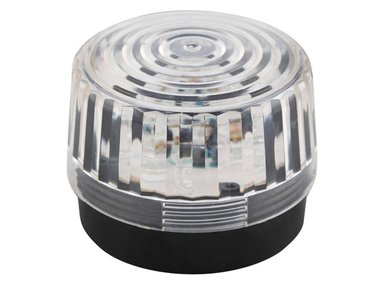 LED-KNIPPERLICHT - TRANSPARANT - 12 VDC -  ø 100 mm (HAA100WN)