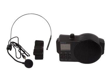 MOBIELE SPRAAKVERSTERKER MET USB/SD en FM-RADIO (HQPA10002)