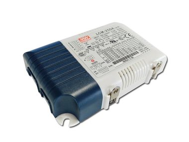 MULTIPLE-STAGE OUTPUT CURRENT LED POWER SUPPLY  - 25 W - SELECTABLE OUTPUT CURRENT WITH PFC (LCM-25DA)