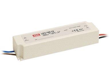 SCHAKELENDE VOEDING - 1 UITGANG - 100 W - 12 V (LPV-100-12)