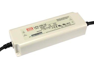 SCHAKELENDE VOEDING - 1 UITGANG - 150 W - 12 V (LPV-150-12)