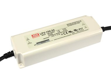 SCHAKELENDE VOEDING - 1 UITGANG - 150 W - 24 V (LPV-150-24)