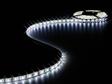 FLEXIBELE LED STRIP - KOUDWIT - 300 LEDs - 5m - 24V (LS24N230CWN)