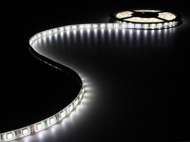 FLEXIBELE LED STRIP - NEUTRAALWIT - 300 LEDS - 5m - 24V (LS24N230NWN)