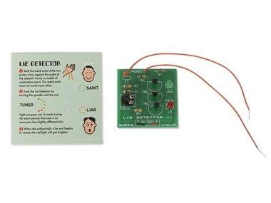MADLAB ELECTRONIC KIT - LIE DETECTOR (MLP106)