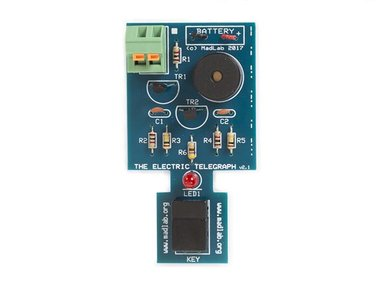 MADLAB ELECTRONIC KIT - ELECTRIC TELEGRAPH (MLP109)
