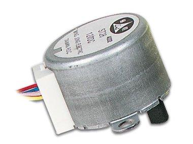 STAPPENMOTOR 12VDC 32mA (HOEK 5.625° / 64 STAPPEN) (MOTS1)