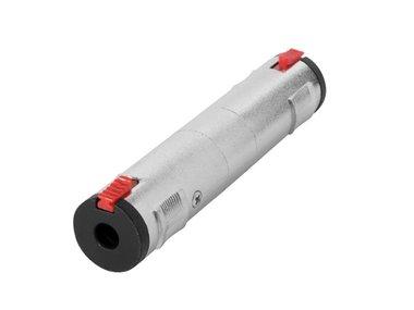 JACK CONNECTOR - JACK 3.5 mm VROUWELIJK naar JACK 6.35 mm VROUWELIJK - STEREO (PCN017)
