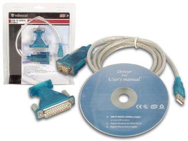 USB NAAR SERIËLE KABEL (PCUSB6)