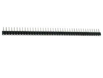 TULPVORMIGE IC VOET, ENKELE RIJ, 40 CONTACTEN, PITCH = 2.54mm (PHT40)