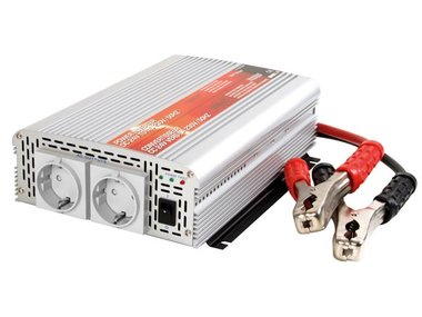 INVERTER MET GEMODIFICEERDE SINUSGOLF 1000W 12VDC INGANG / 230VAC UITGANG - 'Soft-Start' (PI1000MN)