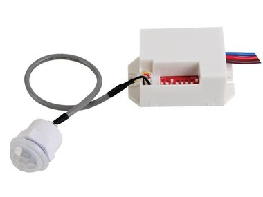 MINI PIR-BEWEGINGSDETECTOR - INBOUW - 230VAC (PIR415)