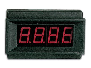 DIGITALE LED-PANEELMETER  - 9 VDC (PMLED)