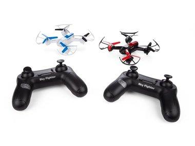 SKY FIGHTER - SET MET 2 BATTLE DRONES (RCQC5)