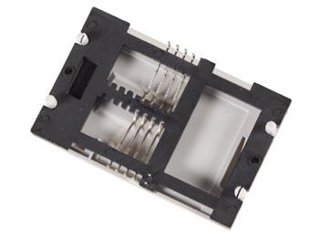 CONNECTOR VOOR CHIPKAARTLEZER - 8-PINS AANSLUITING (SOCKICC)