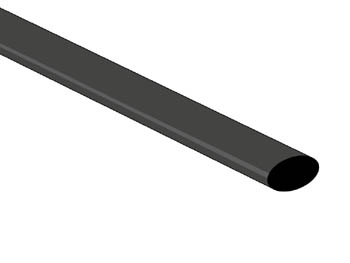 THERMISCHE KRIMPKOUS 6.4mm - ZWART - 50 ST. (STB64BK)