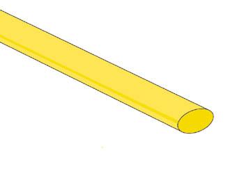 THERMISCHE KRIMPKOUS 6.4mm - GEEL - 50 ST. (STB64Y)