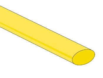 THERMISCHE KRIMPKOUS 9.5mm - GROEN/GEEL - 25 ST. (STB95GY)