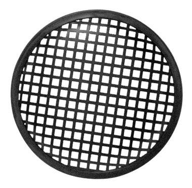 ZWART METALEN LUIDSPREKERROOSTER, 12.7cm (VDAC32)