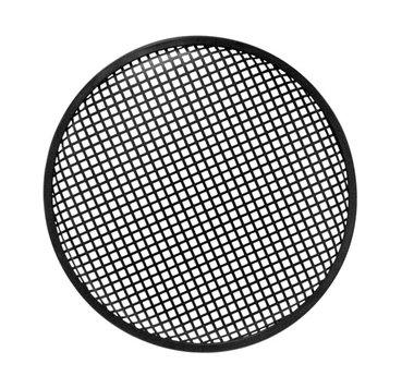 ZWART METALEN LUIDSPREKERROOSTER, 38.1cm (VDAC36)