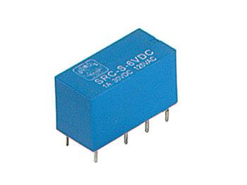 DIL RELAIS 1A/30VCC-125VCA 2 x WISSEL 6Vdc (VR1D062C)