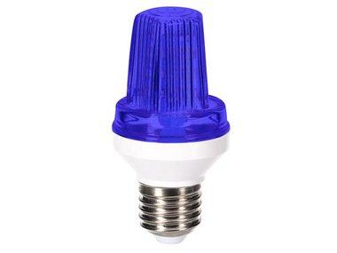 MINI LEDFLITSLAMP - E27 - 3 W - BLAUW (HQPL11027)
