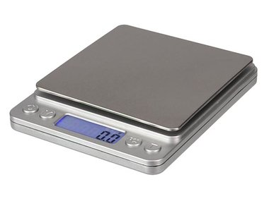 DIGITALE MINI PRECISIEWEEGSCHAAL - 500 g / 0.01 g (VTBAL402)