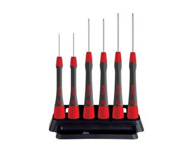 Wiha Fine screwdriver set PicoFinish® Hex, 6 pcs. with holder  (42992) (WH42992)