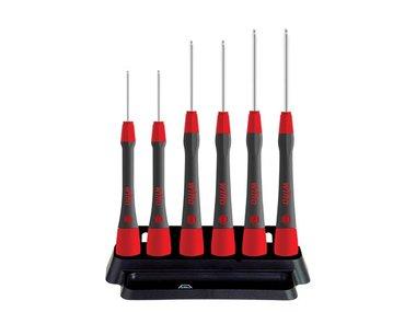 Wiha Fine screwdriver set PicoFinish® Hexagonal ball end, 6 pcs. with holder  (42993) (WH42993)