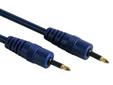 OPTISCHE KABEL - 3.5mm CON NAAR 3.5mm CON, OD=5mm, LENGTE=1m (AVB048/1.0)