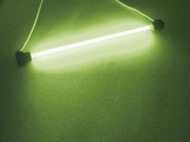 KOUDE-KATHODE FLUO LAMPEN, Ø4mm, LENGTE 10cm, GROEN (FLG1)