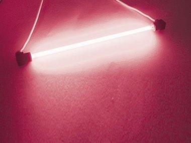 KOUDE-KATHODE FLUO LAMPEN, Ø4mm, LENGTE 10cm, ROZE (FLP1)