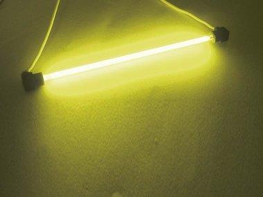 KOUDE-KATHODE FLUO LAMPEN, Ø4mm, LENGTE 10cm, GEEL (FLY1)