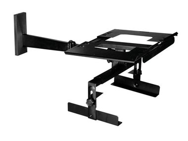 TV-STEUN - max. 25 INCH - max. 60 kg - 430 x 302 x 80 / 120 mm (LC3013)