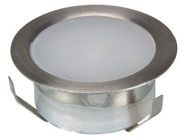 LED-BINNENVERLICHTING - INBOUWMONTAGE - 6 x 0.3 W - WARMWIT (LEDA36WW)