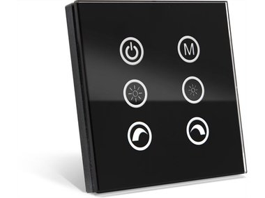 MULTIFUNCTIONELE TOUCH LED-CONTROLLER/DIMMER (LEDC12)