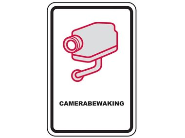CCTV WAARSCHUWINGSBORD - NEDERLAND (CCTVWARNL)