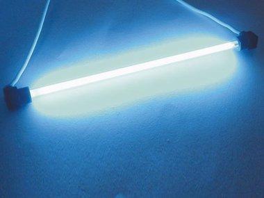 KOUDE-KATHODE FLUO LAMPEN, Ø4mm, LENGTE 10cm, BLAUW (FLB1)