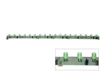 FLEXIBELE LEDMODULE - GROEN - 18 LEDs - 30cm - 12VDC (LDB1-HS3018AG)