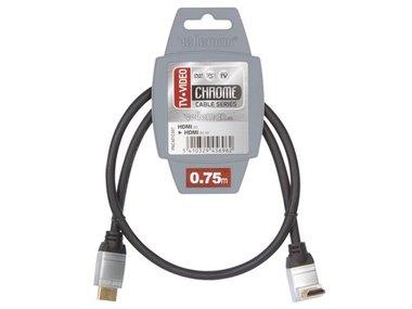 HDMI PLUG NAAR HDMI PLUG / STANDAARD /0.75m (PAC401C007)