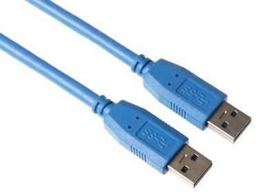 USB KABEL 3.0 - A PLUG NAAR A PLUG/BASIS/1.8m (PAC604B025)